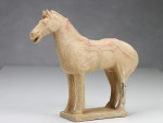 Terrakotta-Krieger Pferd hell 22cm Serie