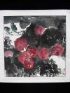 """Chinesische Malerei von Xiong Wen """"Vögel im Blumenmeer"""""""