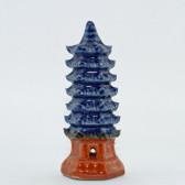 Bonsai-Figur Pagode, sechseckig