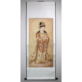 Buddhistisches Bild der Guanyin, Rollbild China
