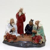 """Chinesische Figuren """"Go-Spiel"""", Keramik"""