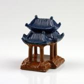 """Bonsai-Figur """"Kaiserpalast"""", chinesische Keramik-Deko (L)"""