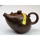 """Yixing Teekanne """"Chinesische Tierkreiszeichen – Die Ratte"""""""