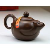 """Yixing Teekanne """"Chinesische Tierkreiszeichen – Der Affe"""""""