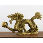 Chinesischer Drache Long Messing Figur klein