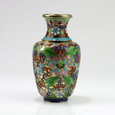 """Cloisonne-Vase """"Kaiserliche Blütenpracht"""" (Cloisonné)"""