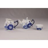"""Chinesisches Teeservice Porzellan """"Lotus"""", Manufaktur Heyun Ceramics"""