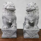 """Steinfiguren """"Wächterlöwen"""", Feng Shui Tempelwächter"""