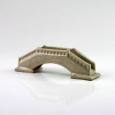 Chinesische Brücke Keramik-Pflanzendeko, Aquarium Dekoration (L)