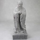 Konfuzius Statue Stein groß