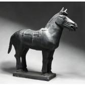 """Terrakotta-Krieger aus Xi'an """"Großes Pferd"""" (Solitaire)"""