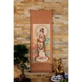 """Rollbild """"Guanyin mit Weidenzweig"""" (Himmlisches Triptychon)"""