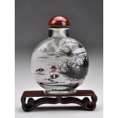 "Snuff Bottle ""Winterlandschaft"""