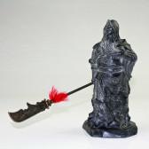 """Steinfigur """"General Guan Gong"""", Guan Yu Skulptur"""