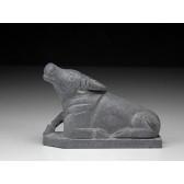 """Steinfigur """"Chinesische Tierkreiszeichen - Der Büffel (Ochse)"""""""