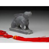 """Steinfigur """"Chinesische Tierkreiszeichen - Der Hase"""""""