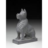 """Steinfigur """"Chinesische Tierkreiszeichen - Der Hund"""""""