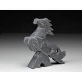 """Steinfigur """"Chinesische Tierkreiszeichen - Das Pferd"""""""