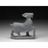 """Steinfigur """"Chinesische Tierkreiszeichen - Das Schaf (Ziege)"""""""
