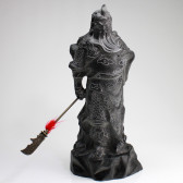 "Steinfigur ""General Guan Yu"", große Kwan Yu Statue"