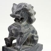 Fu-Hund Steinfigur, Tempelwächter Feng Shui, Wächterlöwe