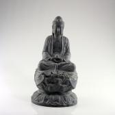 "Steinskulptur ""Buddha Amitabha auf Lotusthron"", Statue groß"