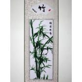 """Stickbild Chinesische Blumen """"Bambus"""""""