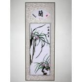 """Stickbild Chinesische Blumen """"Orchidee"""""""