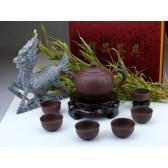 """Yixing Teeservice """"Zeichen der Freundschaft"""", Fang Gu"""