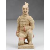 """Terrakotta-Krieger aus Xi'an """"Bogenschütze"""" (hell, 22cm Serie)"""