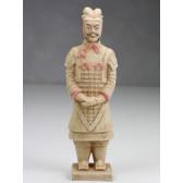 """Terrakotta-Krieger aus Xi'an """"General"""" (hell, 22cm Serie)"""