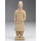 """Terrakotta-Krieger aus Xi'an """"Offizier"""" (hell, 22cm Serie)"""