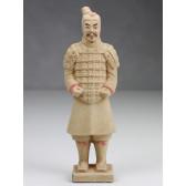 """Terrakotta-Krieger aus Xi'an """"Soldat"""" (hell, 22cm Serie)"""