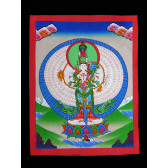 Thangka, Avalokiteshvara Bodhisattva