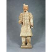 """Terrakotta-Krieger aus Xi'an """"Soldat"""" (hell, 80cm Serie)"""