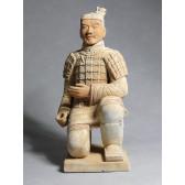 """Terrakotta-Krieger aus Xi'an """"Bogenschütze"""" (hell, 80cm Serie)"""