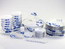Asiatisches Geschirr Set
