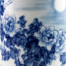 Porzellan-Vase