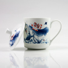 Chinesische Teetasse Porzellan
