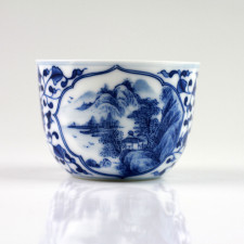 Chinesische Porzellan-Teetassen