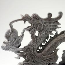 Feng Shui Drache, Steinskulptur Drache Long, Glücksdrache L: 40 cm