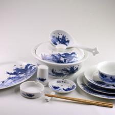 Chinesisches Ess-Geschirr Set