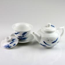 Porzellan Tee-Set