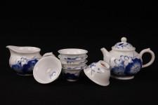 Chinesisches Teeservice Porzellan