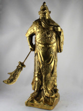 Guan Yu Statue Metallfigur