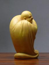 Chinesische Holzfigur