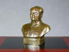 Büste von Mao Zedong Metall