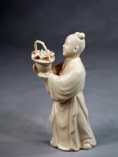 Klassische Porzellanfigur