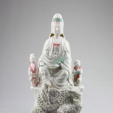 Kuan Yin Keramikfigur