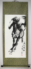 Rollbild, chinesische Tuschezeichnung
